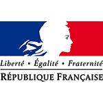 Logo République française small square
