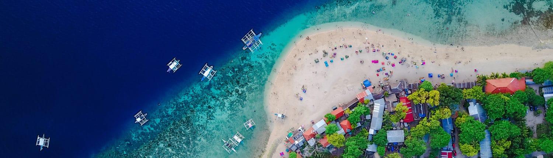 Bord de mer à Cebu, Philippines
