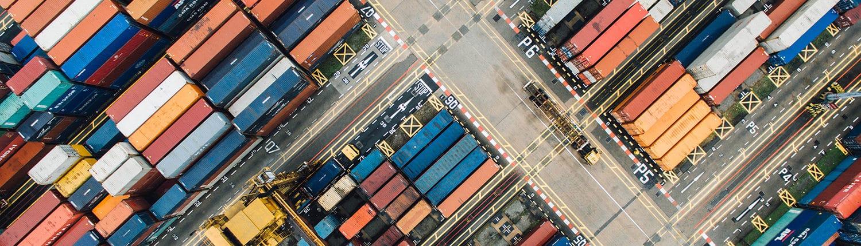 Terminal d'expédition maritime à Singapour