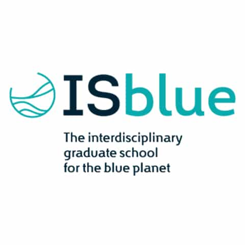 ISblue, Ecole doctorale interdisciplinaire pour la planète bleue, est une nouvelle école doctorale basée à Brest ( qui vise à attirer d' éminents étudiants internationaux, à consolider les synergies entre les universités (UBO, UBS) et écoles d' ingénieurs (ENSTA Bretagne, ENIB, IMT Atlantique, École Navale), à améliorer leurs compétences en sciences marines.