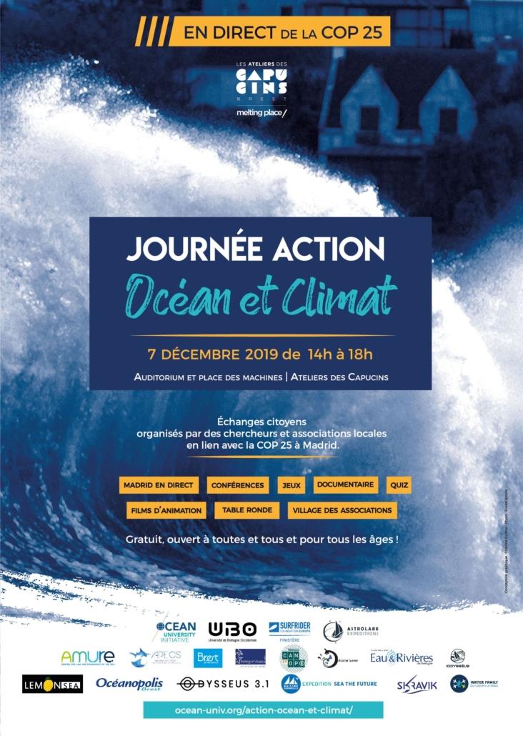 Affiche Action Océan action et Climat