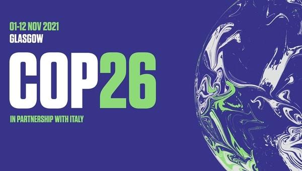 COP26 banner